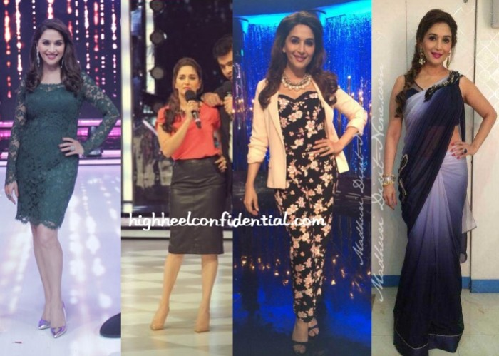 madhuri-dixit-jhalak-dikhhla-jaa-dress-jumpsuit-skirt-sari