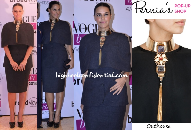 neha-dhupia-outhouse-vogue-beauty-awards-2014-huemn
