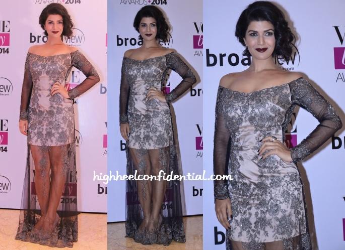nimrat-kaur-shehlaa-vogue-beauty-awards-2014