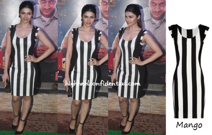 prachi-desai-mango-striped-dress-ek-villain-success-bash