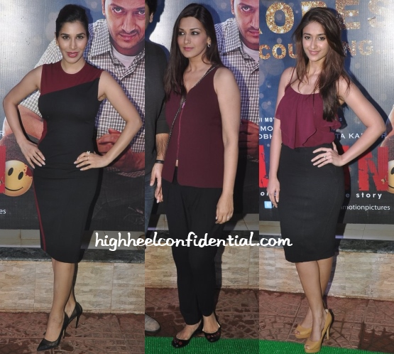 sophie-choudry-sonali-ileana-ek-villain-success-bash