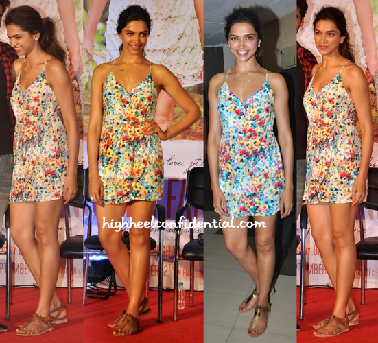 Deepika Padukone Wears Forever 21 To A Song (From 'Finding Fanny') Launch-1