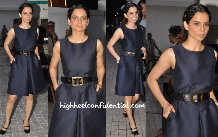 Kangana Ranaut Photographed In Burberry-2