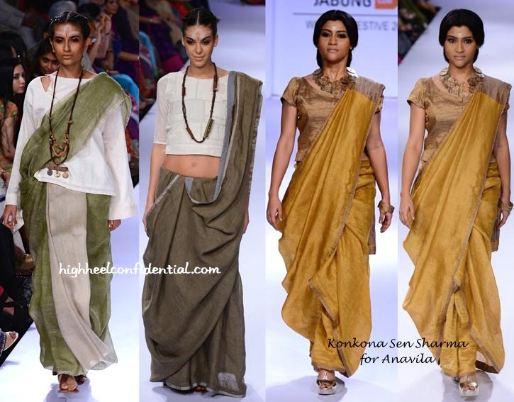 Lakme Fashion Week Winter:Festive 2014- Anavila-2