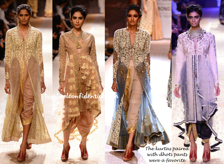Lakme Fashion Week Winter:Festive 2014- Anju Modi-1
