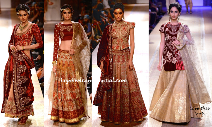 Lakme Fashion Week Winter:Festive 2014- Anju Modi-5