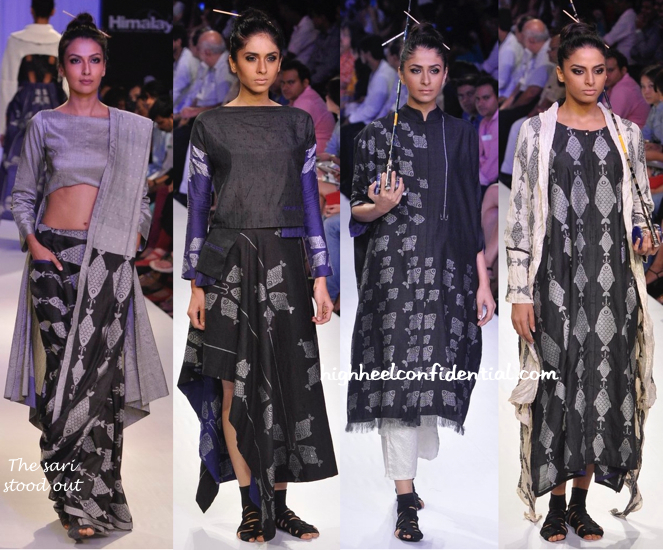 Lakme Fashion Week Winter:Festive 2014- Debashri Samanta-2