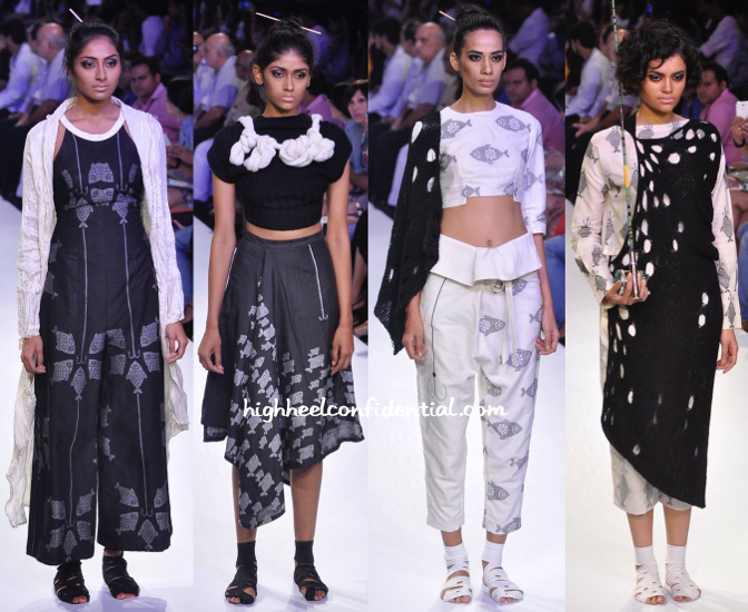 Lakme Fashion Week Winter:Festive 2014- Debashri Samanta-3