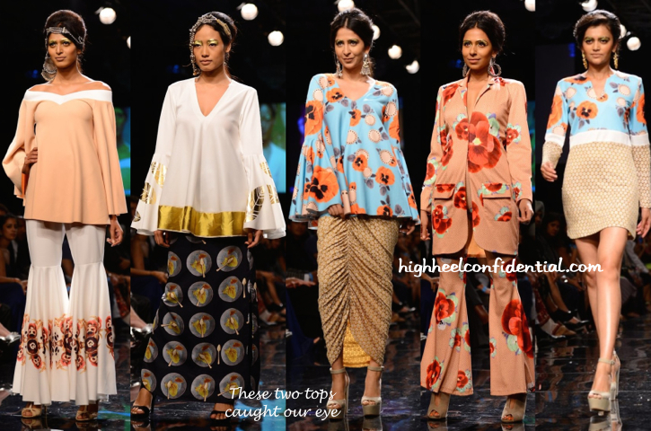 Lakme Fashion Week Winter:Festive 2014- Masaba-1