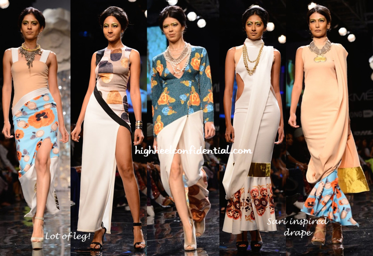 Lakme Fashion Week Winter:Festive 2014- Masaba-2