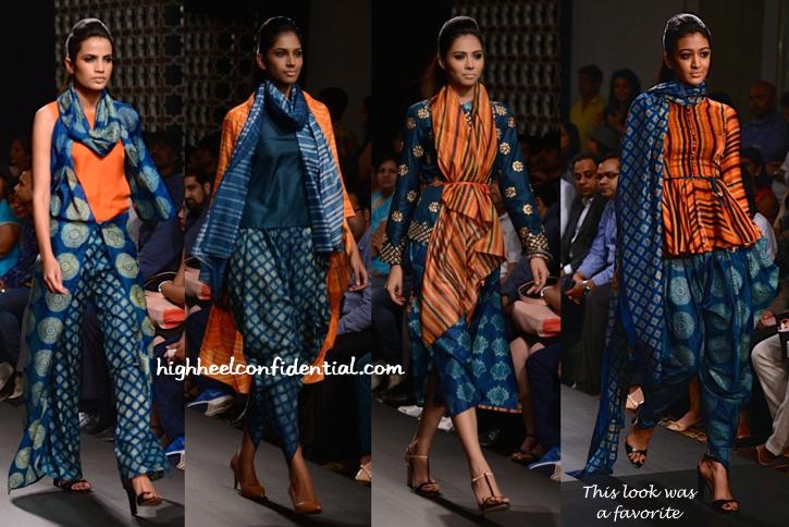 Lakme Fashion Week Winter:Festive 2014- Swati Vijaivargie-1