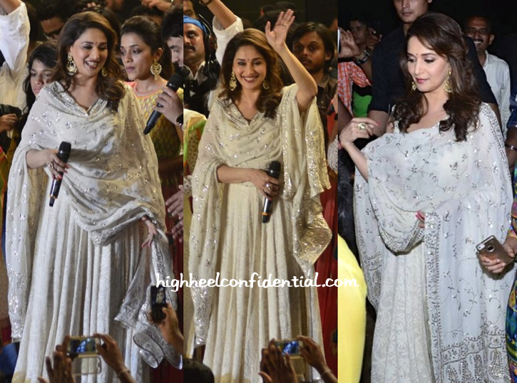 Madhuri dixit at dahi handi 2014 celebrations-2