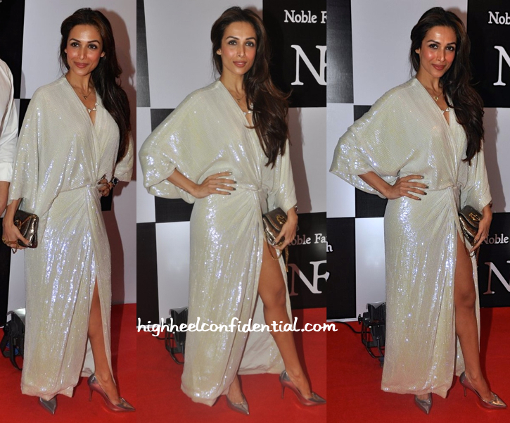 Malaika Arora Khan In DvF At Noble Faith Launch