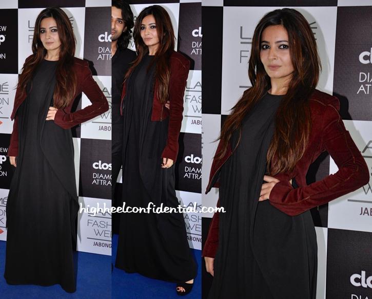 Shonali Nagrani In DRVV At Lakme Fashion Week
