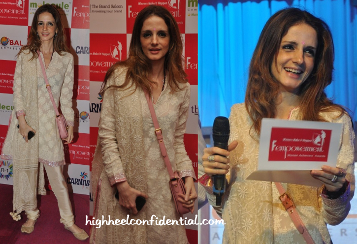 Sussanne Khan At Fempowerment Awards 2014 In Abu Sandeep-2
