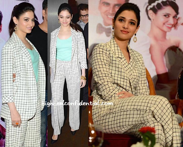 Tamannaah Bhatia Wears Topshop To 'Entertainment' Press Meet-1