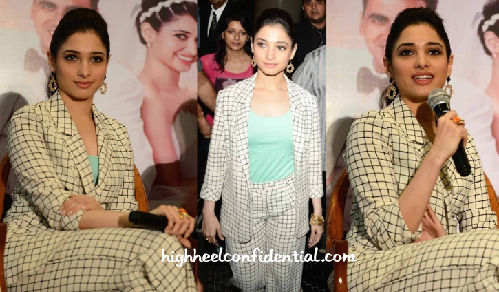 Tamannaah Bhatia Wears Topshop To 'Entertainment' Press Meet-2