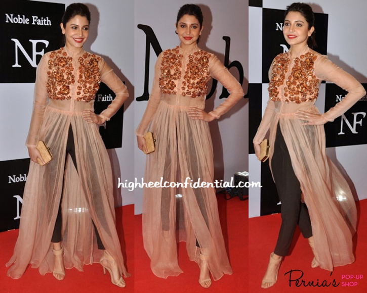 noble faith launch-anushka sharma-nikhil thampi