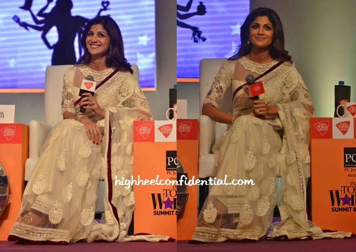 shilpa-shetty-manish-malhotra-india-today-woman-summit-2014