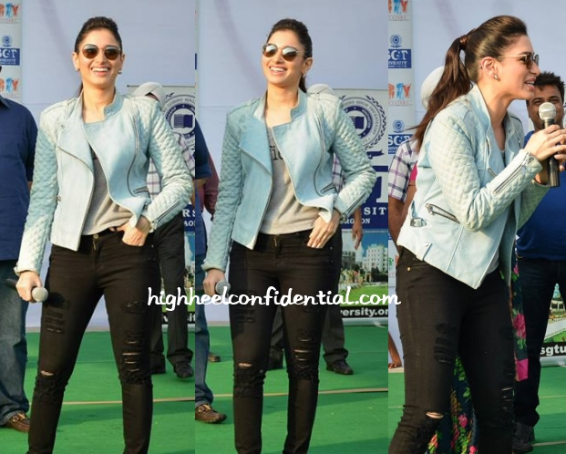 tamannaah-entertainment-barbara-bui-biker-jacket-valentino-boots-1