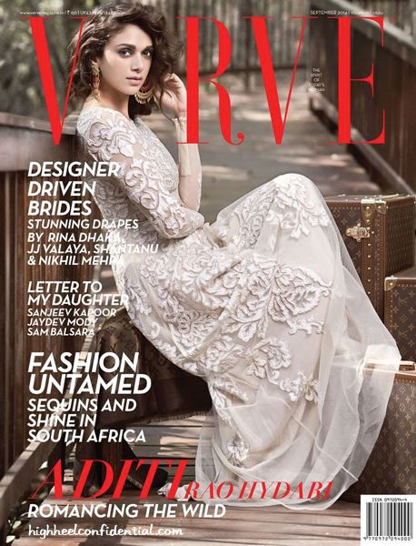 Aditi Rao Hydari Covers Verve's September Bridal Issue