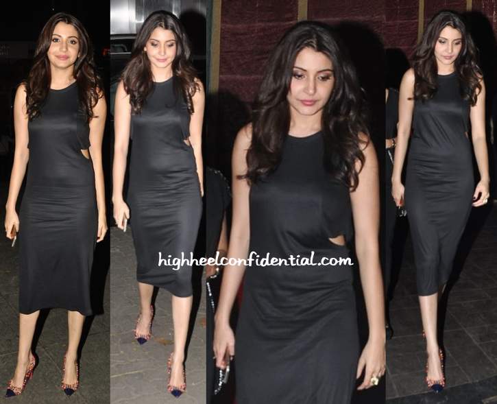 Anushka Sharma At Dil Dhadakne Do Wrap Up Party-1