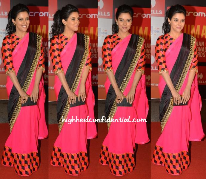 Asin In Arpita Mehta At SIIMA Awards 2014-1