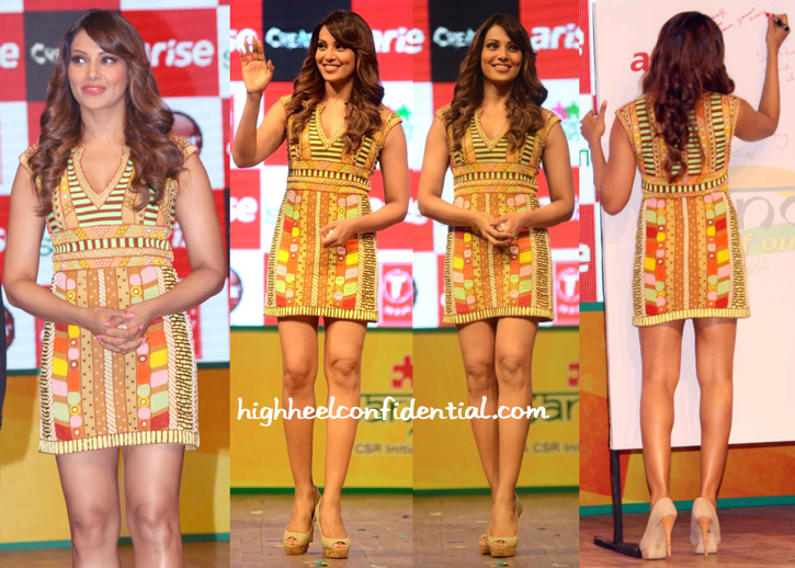 Biapasha Basu In Pia Pauro At Creature Promotions In Delhi-2