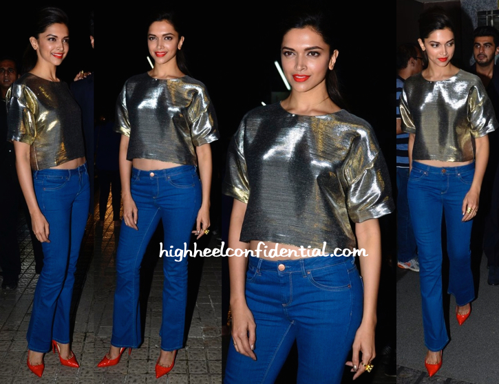 Deepika Padukone In Monisha Jaising At 'Finding Fanny' Screening-1