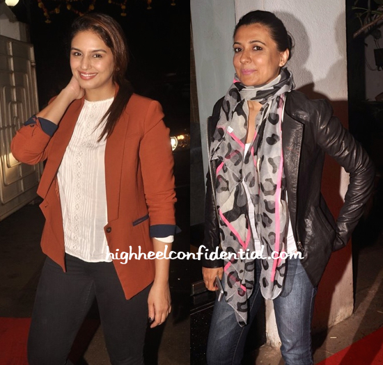 Huma Qureshi And Mini Mathur At Finding Fanny Screening-2