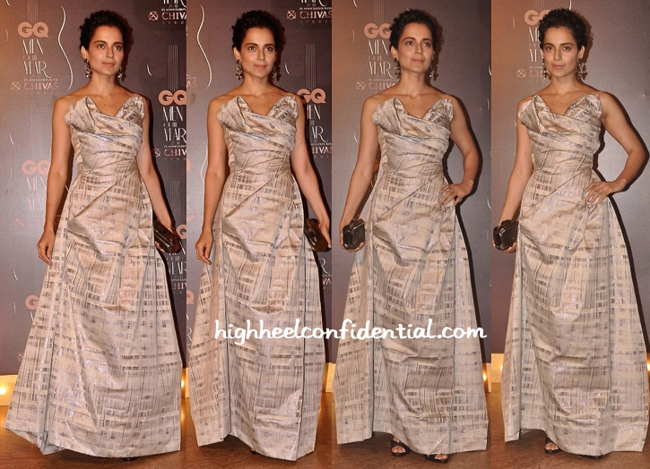 Kangana Ranaut In Vivienne Westwood At GQ Awards 2014-1