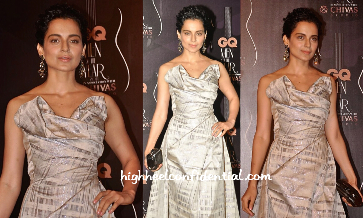 Kangana Ranaut In Vivienne Westwood At GQ Awards 2014-2