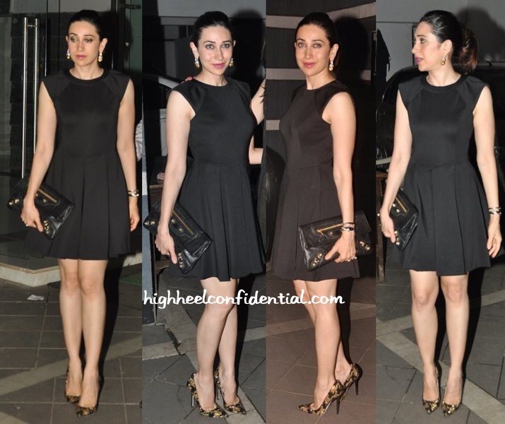 Karisma Kapoor At Sanjay Kapoor's Party