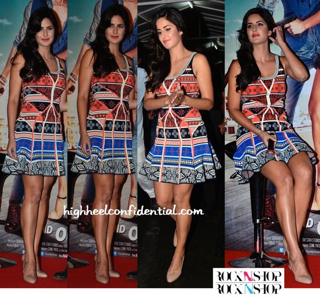 Katrina Kaif In DvF At 'Bang Bang' Music Launch-2