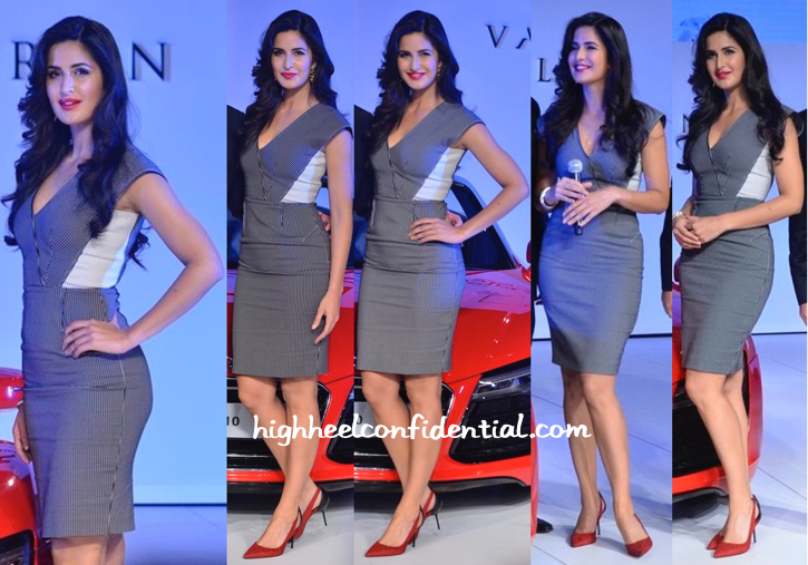 Katrina Kaif In Roland Mouret At Audi Launch Event