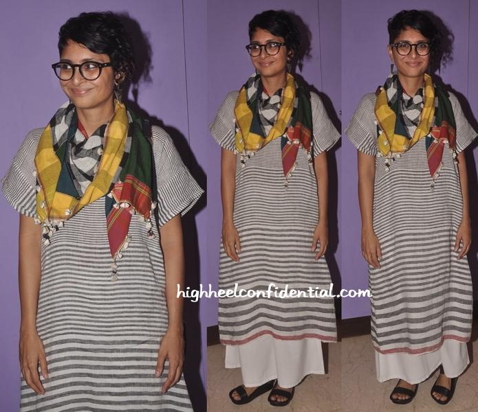 Kiran Rao In Péro by Aneeth Arora At Mumbai Film Festival-2