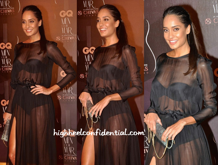 Lisa Haydon In Deme by Gabriella At GQ Awards 2014-1