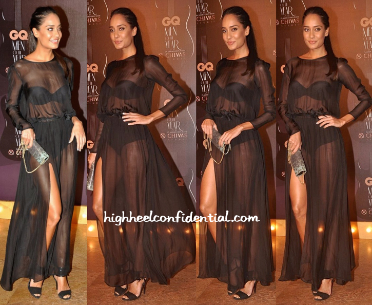 Lisa Haydon In Deme by Gabriella At GQ Awards 2014-2