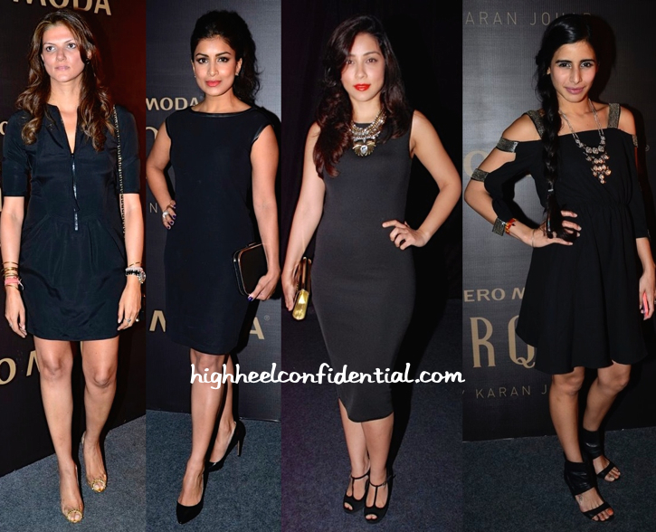 Nandita Mahtani, Pallavi Sharda, Amrita Puri And Soniya Mehra At Marquee By Karan Johar Launch