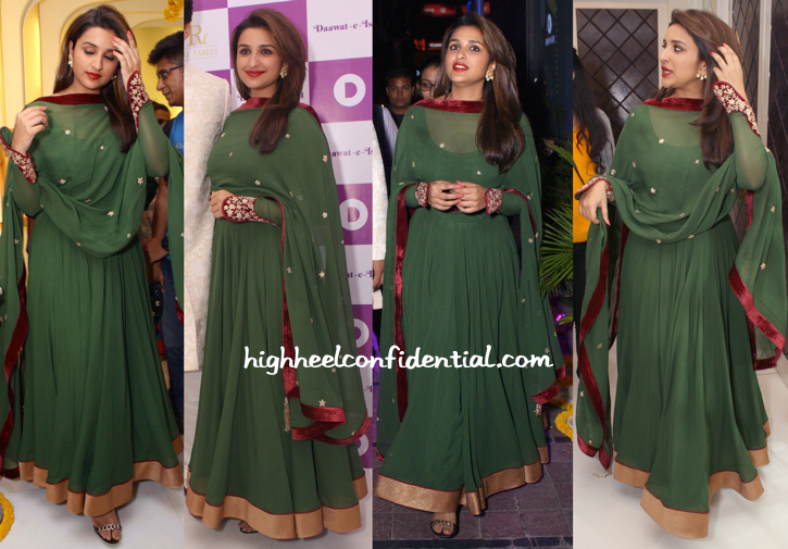 Parineeti Chopra In Diva'ni At Daawat-E-Ishq Promotions-1
