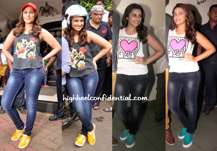 Parineeti Chopra Wears Forever 21 To Daawat-e-Ishq Promotions