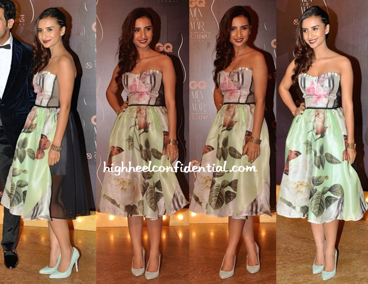 Patralekha In Antonio Marras And Swarovski At GQ Awards 2014