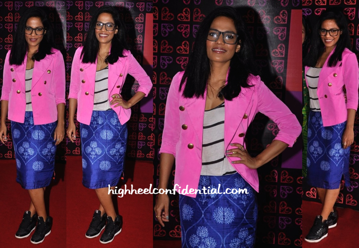 Priyanka Bose In Swati Vijaivargie At Design One Exhibition