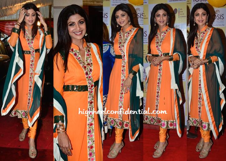 Shilpa Shetty At IOSIS Spa Launch