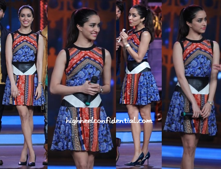 Shraddha Kapoor In Atsu On Cinestars Ki Khoj Sets For Haider Promotions-2