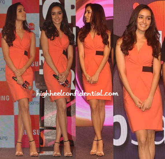 Shraddha Kapoor In Kenneth Cole At Samsung Launch (Also Previously Seen On Tara Sharma)-1