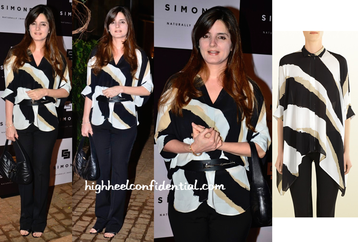 Simone Khan Wears Gucci To Her Store Launch