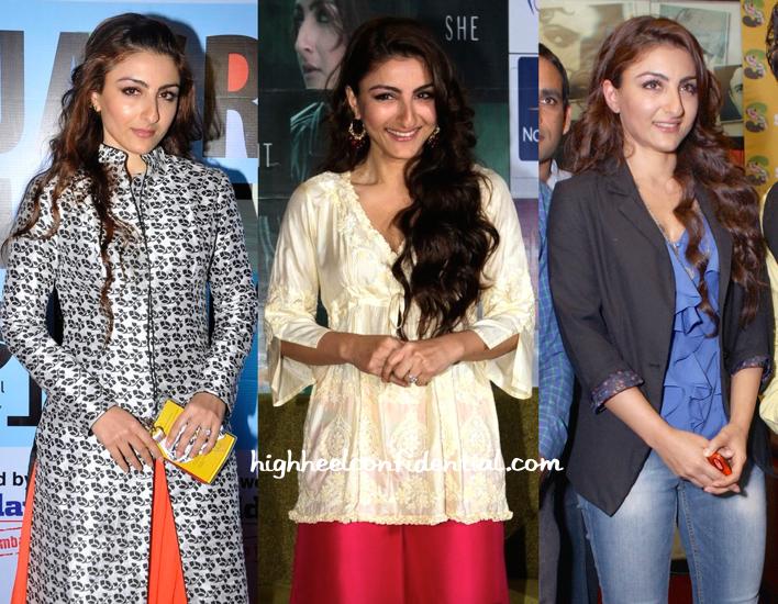 Soha Ali Khan At Jagran Film Festival And At Chaarfutiya Chhokare Promotions-2