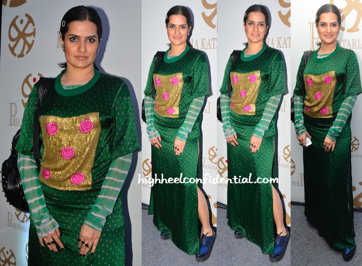 Sona Mohapatra In GaGa By Tanya Sharma At Pria Kataria Puri's Store Launch