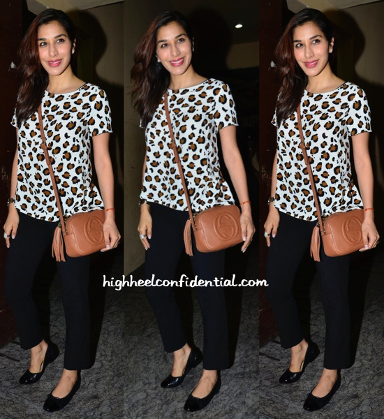 Sophie Choudry At Finding Fanny Screening